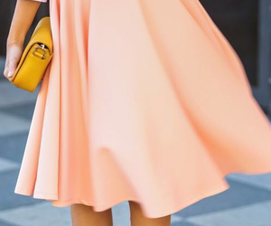 classy and coral skirt image