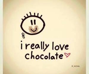 chocolate, love, and yummy image