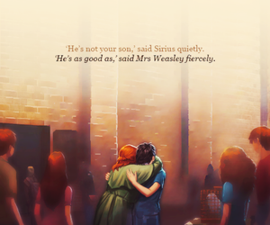 harry potter, molly weasley, and mother image