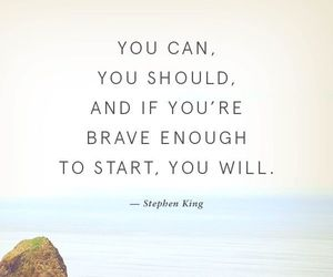 quotes, brave, and motivation image