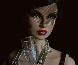 barbie, glamour, and elegante image