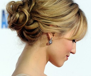 hair, dianna agron, and hairstyle image
