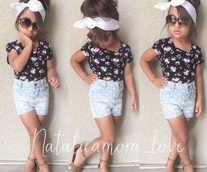 baby, outfit, and spring image