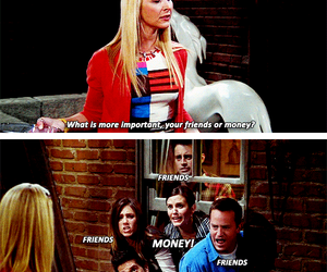 friends and phoebe buffay image