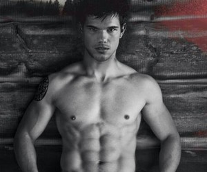 abs, sexy, and Taylor Lautner image