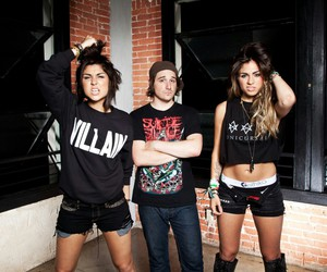 krewella, music, and rain man image