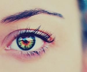 beautiful, eye, and girl image