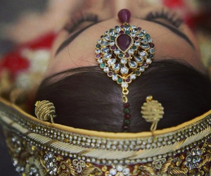 girly, indian, and jewelry image