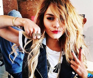 vanessa hudgens, blonde, and hair image