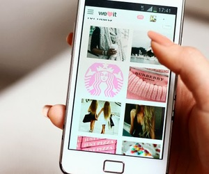 we heart it, weheartit, and phone image