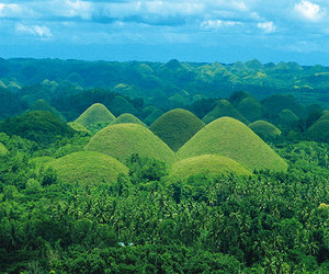 chocolate hills, Philippines, and bohol image
