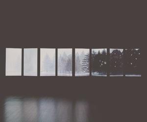 dark, sad, and snow image