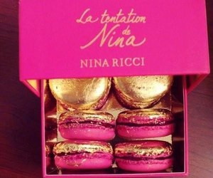 pink, food, and Nina Ricci image