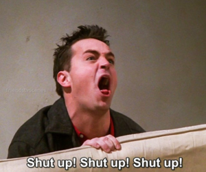 Best, chandler bing, and tv show image