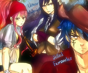 fairy tail, jellal, and meredy image