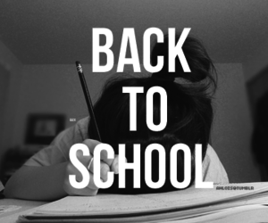 school and back image