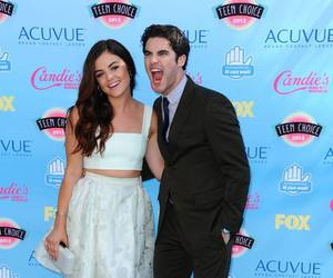 teen choice awards, lucy hale, and darren criss image