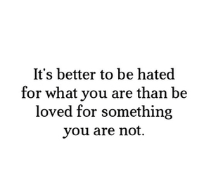 quote, love, and hate image