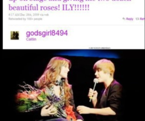 CAITLIN, real love, and justin bieber image
