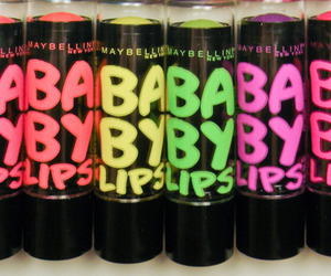 baby lips, lip balm, and makeup image