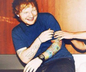ed sheeran, smile, and ginger image