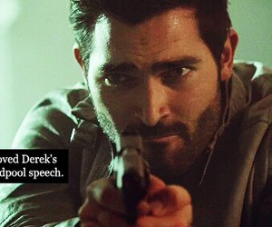 teen wolf, tyler hoechlin, and derek image