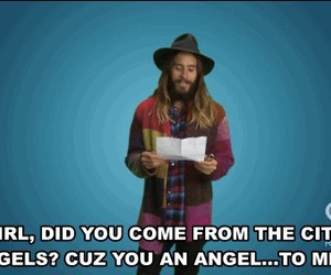 jared leto, 30 seconds to mars, and funny image