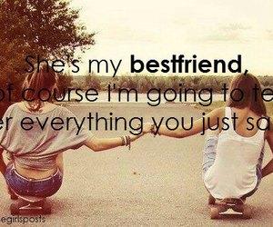 best friends, friends, and bestfriend image
