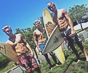 abs, surfboard, and cody simpson image
