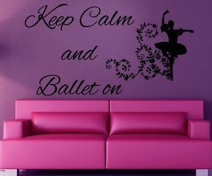 ballet, dance, and decals image