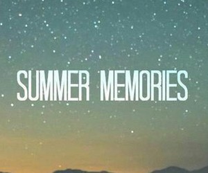memories and summer image