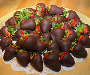 choclate, delicious, and food image