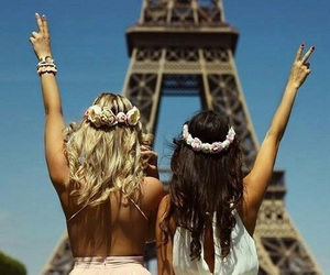 paris, friends, and best friends image