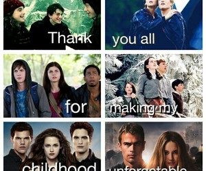 harry potter, narnia, and twilight image