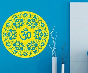 decals, indian, and mandala image