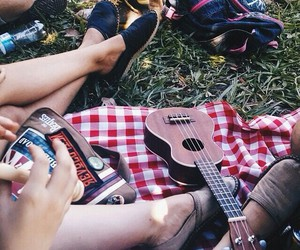 fun, indie, and picnick image