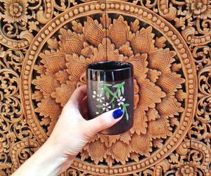 fashion, nails, and tea image