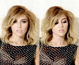 miley cyrus and hair image