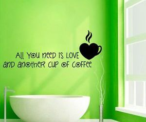 cafe, coffee, and decals image