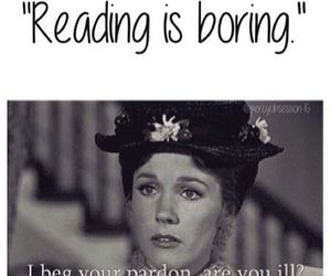 book, reading, and Mary Poppins image
