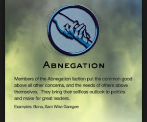 faction, divergent, and abnegation image