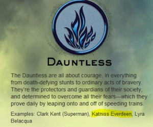 faction, divergent, and dauntless image