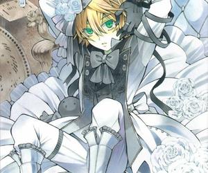 pandora hearts, anime, and oz vessalius image