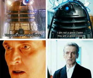 black, Dalek, and doctor who image