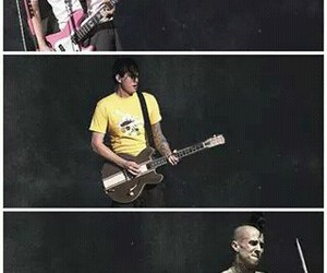 band, blink, and mark hoppus image