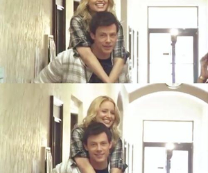 cory monteith, dianna agron, and ripcory image