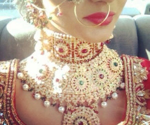 indian, fashion, and jewellery image