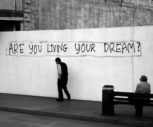 Dream, question, and questions image