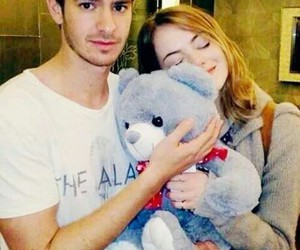 emma stone, andrew garfield, and stonefield image