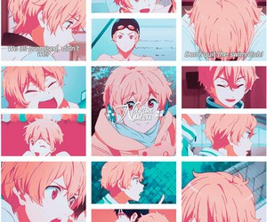free!, nagisa hazuki, and free! eternal summer image